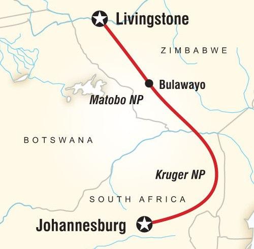 Где находится ботсвана 136