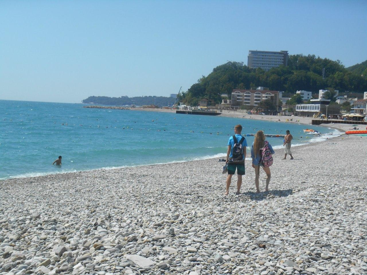 Небуг фото пляжей и поселка