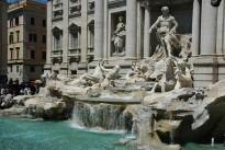 FCO Rome - Trevi Fountain detail 03 3008x2000