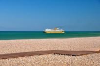Faehrschiff von Dieppe nach England